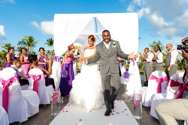 Barcelo Bavaro Palace Deluxe Wedding Cindy And James