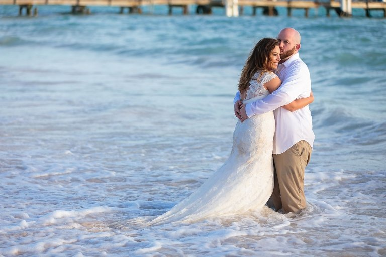 Punta Cana trash the dress