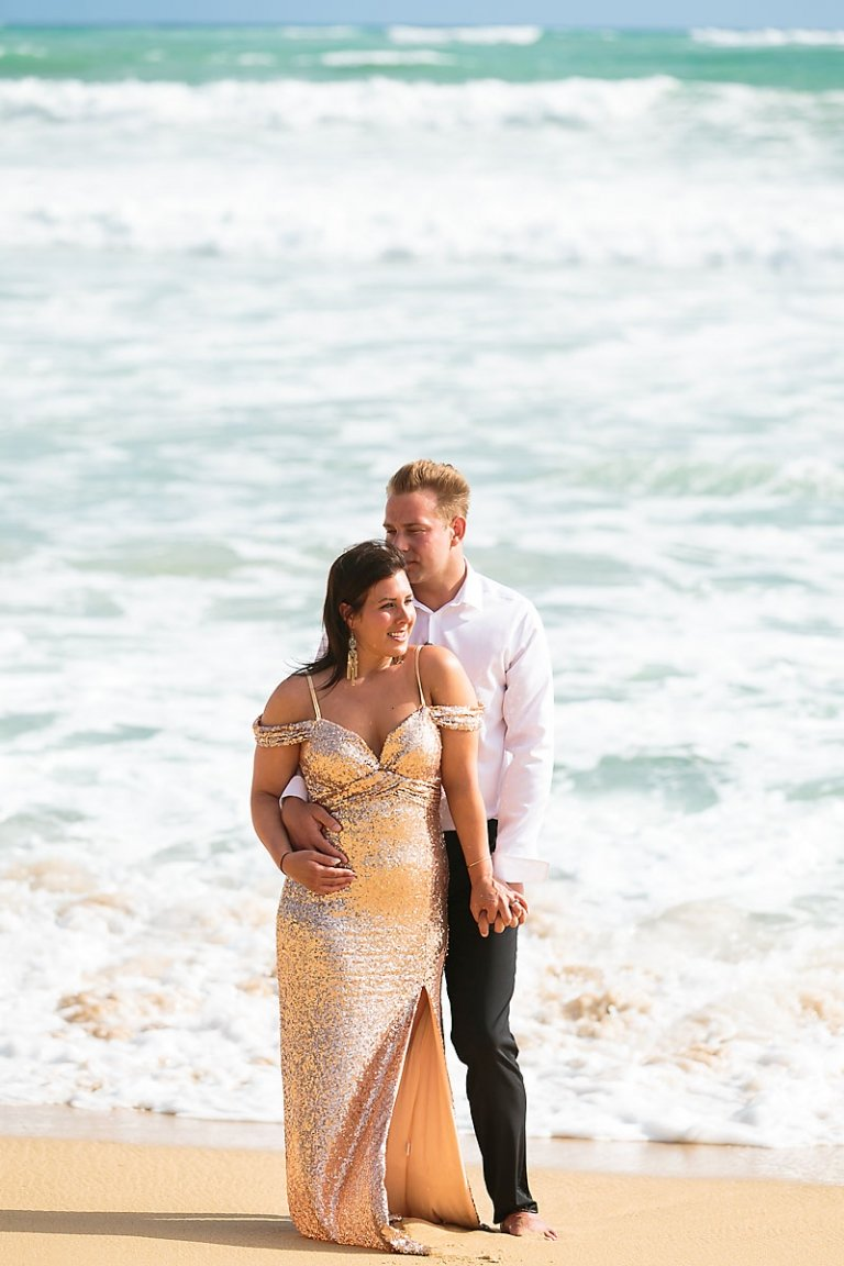 Trash the dress in Punta Cana