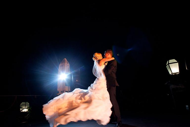 First dance at La Romana wedding