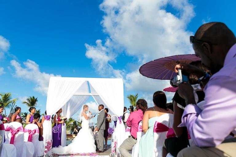 barcelo bavaro palace deluxe wedding