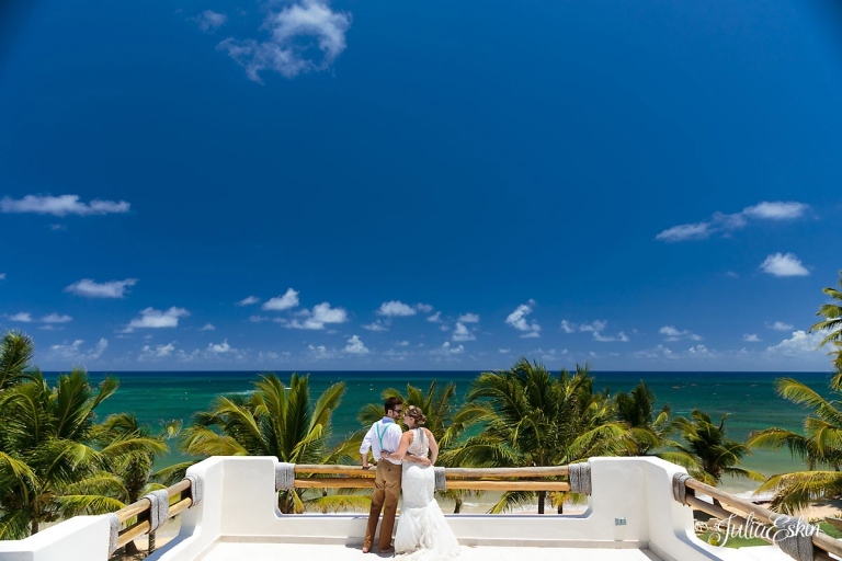 Secrets Royal Beach Wedding