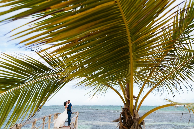 Punta Cana trash the dress photos